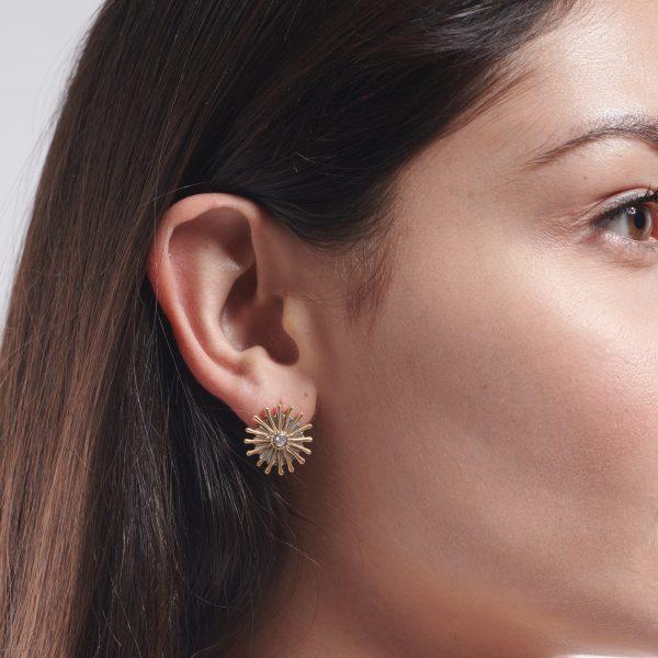 Sunray Earrings by Serena Fox