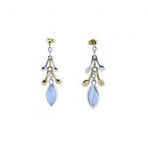 Serena Fox jewellery- Pod Earrings agate