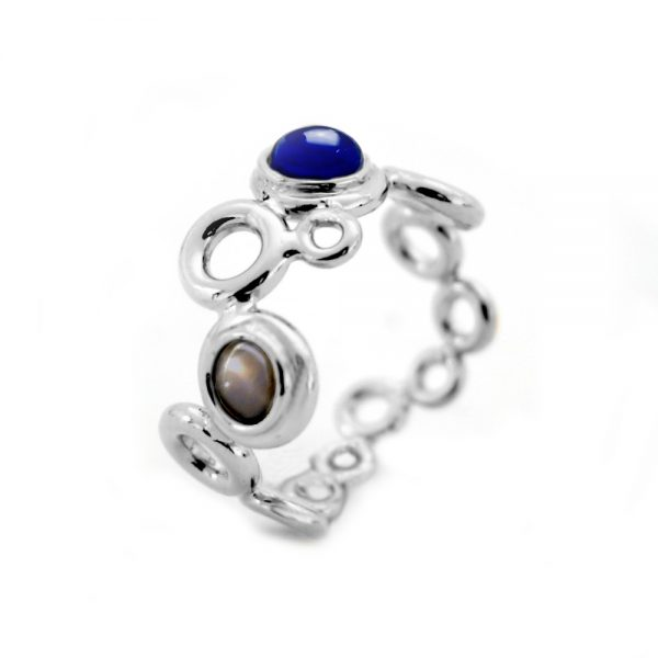 Square Ocean Foam Ring designed by Serena Fox