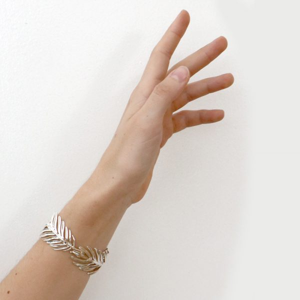 Serena Fox Palm Leaf Bracelet