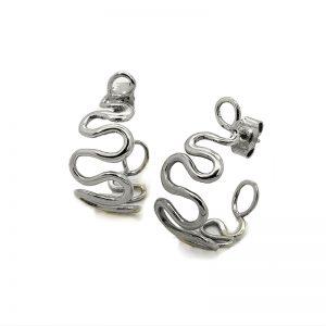 Serena Fox Wisp Hoop Earrings