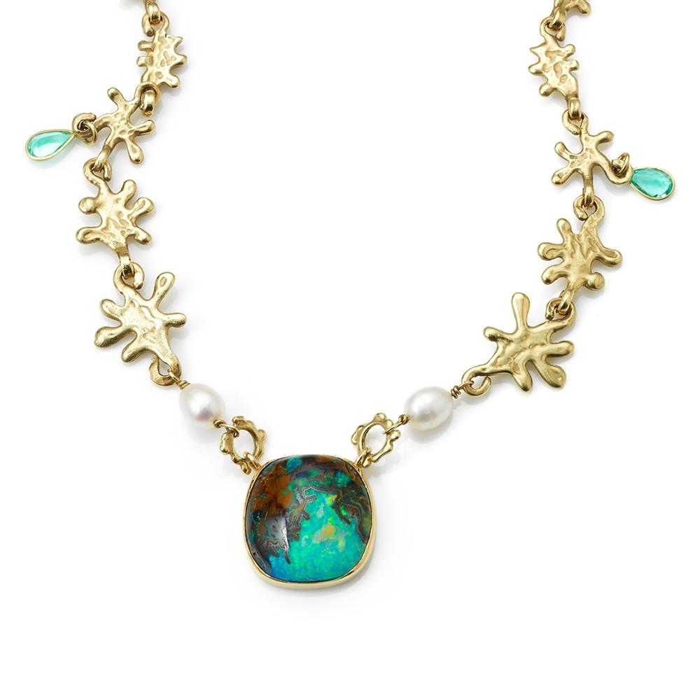 Serena Fox Marine Necklace