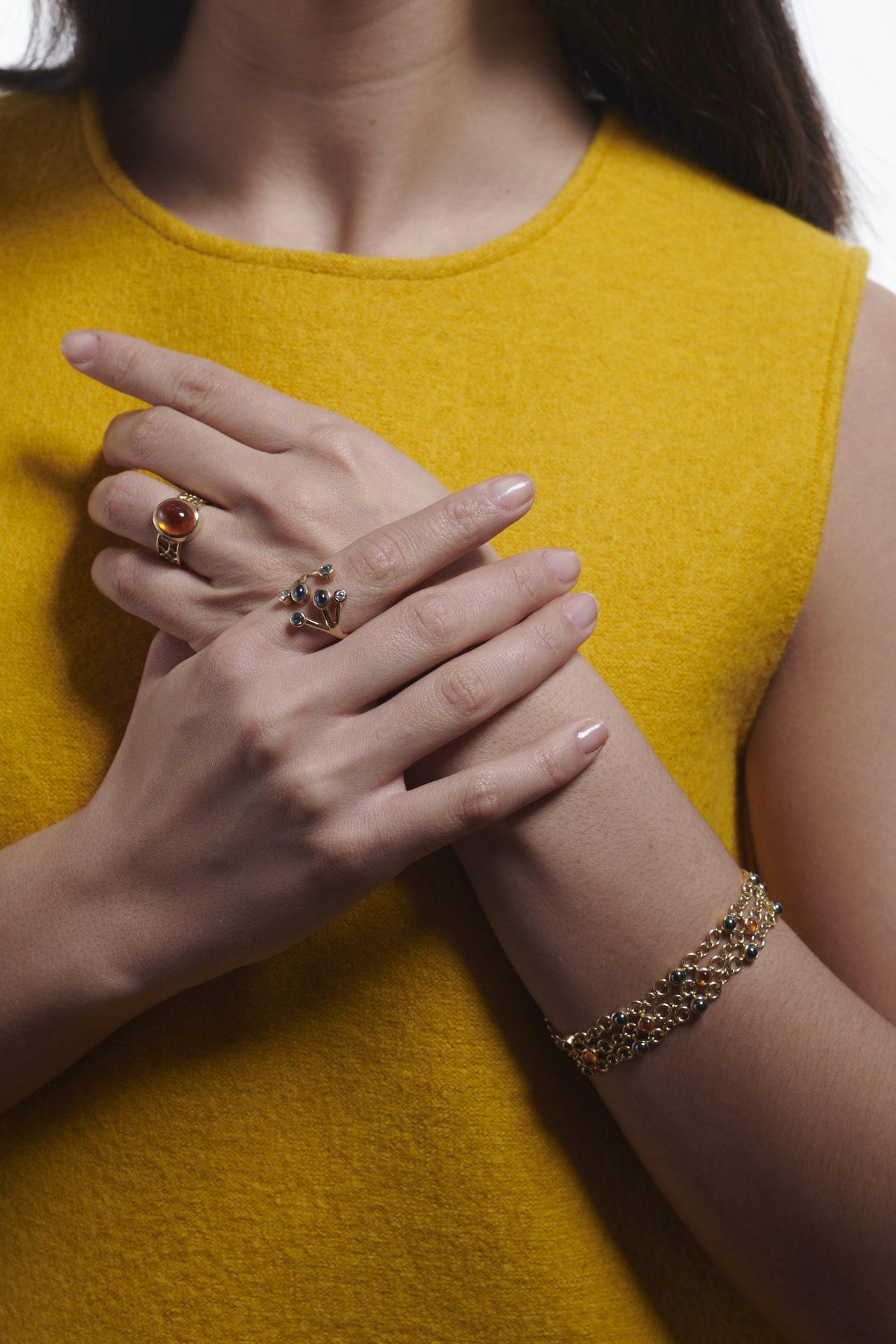 Serena Fox bespoke jewellery designer, London